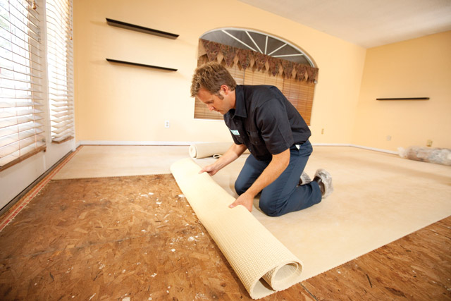Removal And Recycling Of Old Carpet And Cushion; HEPA ...